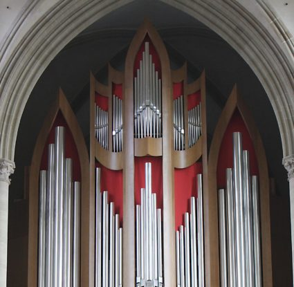 New pipe organ