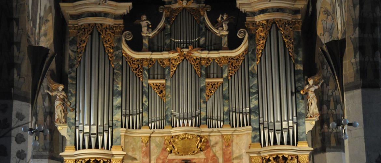 Sangerhausen St. Jacobi, Hildebrandt-Orgel