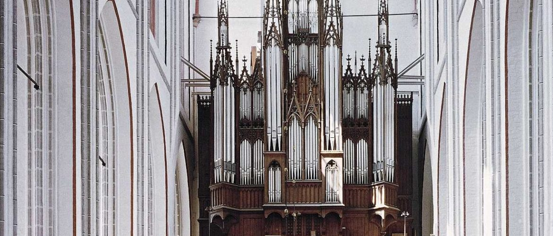 Schwerin Dom, Ladegast-Orgel