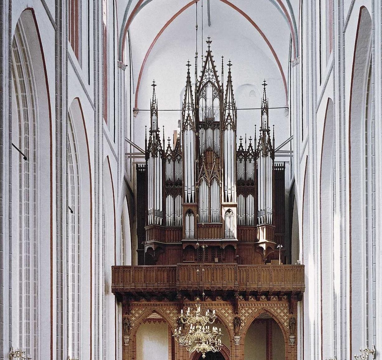 Schwerindom Ladegast Orgel Alexander Schuke Potsdam Orgelbau