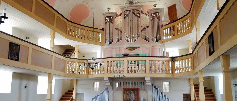 Restaurierung der Böhme-Orgel in Schönburg – erster Bauabschnitt abgeschlossen