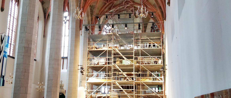 Generalinstandsetzung der Sauer-Orgel in Halle (Saale) hat begonnen