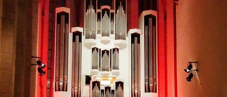 Konzerthalle Ulrichskirche Halle (Saale) - Wiederindienstnahme der Orgel