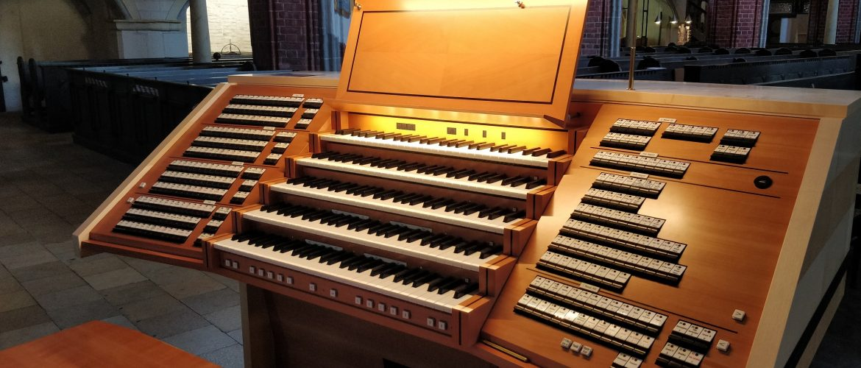 Drei Spieltische für die Orgel der St. Katharinenkirche Brandenburg