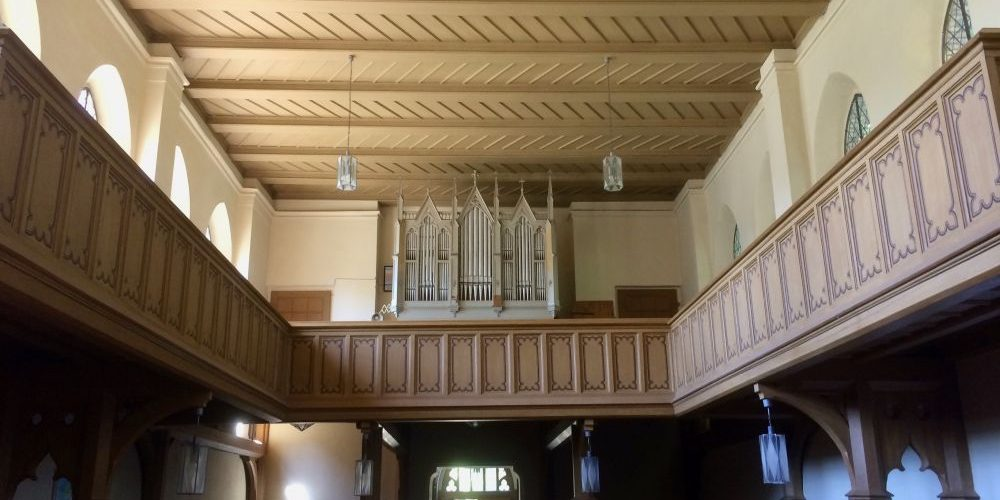Orgel des Monats - Gesell-Orgel in der Ev. Kirche Glindow